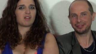 Son mari l'encule pendant un casting porno